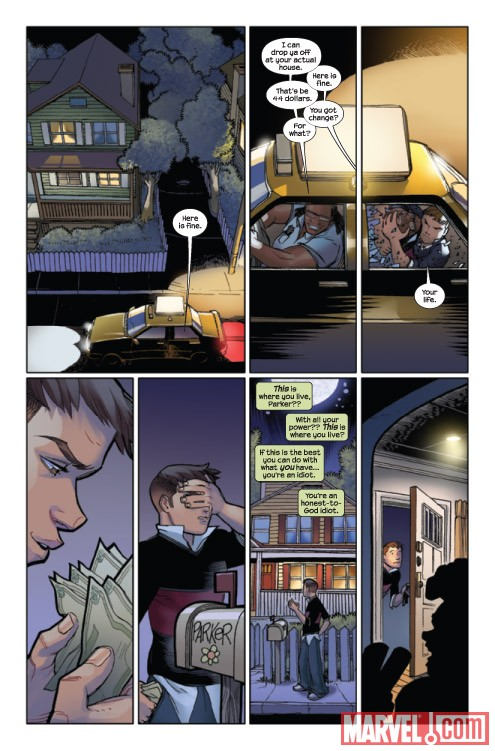 ULTIMATE COMICS SPIDER-MAN #12 preview art by David Lafuente