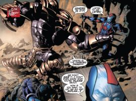 SECRET AVENGERS #3 preview art by Mike Deodato