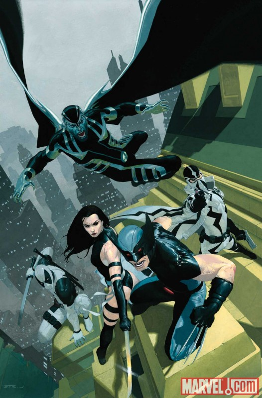 UNCANNY X-FORCE #1 cover by Esad Ribic