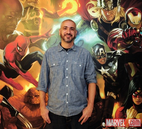 Axel Alonso, Marvel Editor-in-Chief