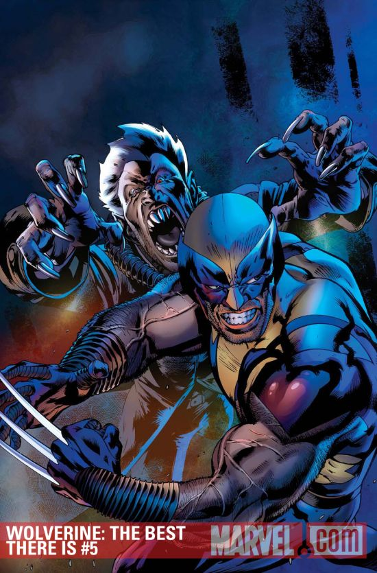Wolverine: The Best There Is #5 cover by Bryan Hitch