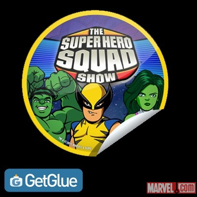 The Super Hero Squad Show GetGlue-exclusive digital sticker
