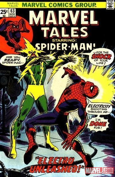 Marvel Tales #63 cover by John Romita Sr.