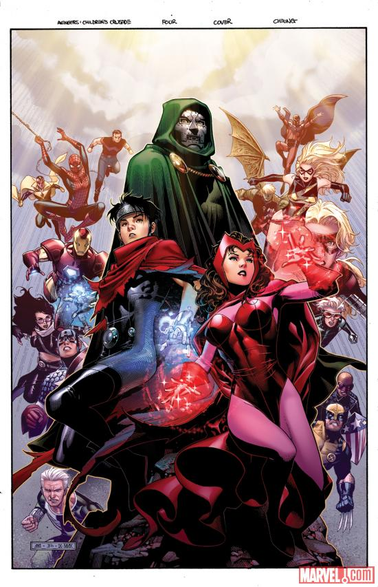Avengers: The Children's Crusade #4 cover by Jim Cheung