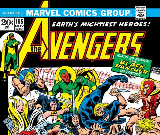 Avengers (1963) #105 Cover
