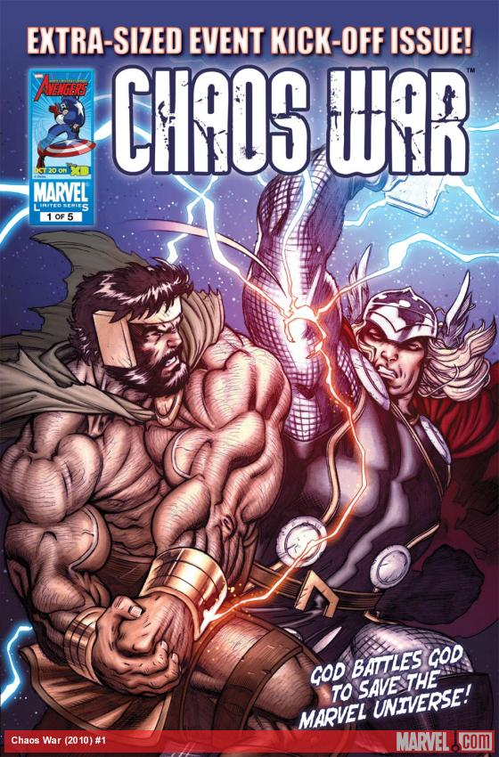 Chaos War (2010) #1 Cover
