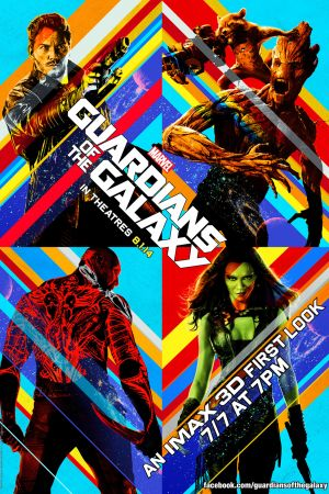 Marvel's Guardians of the Galaxy IMAX poster