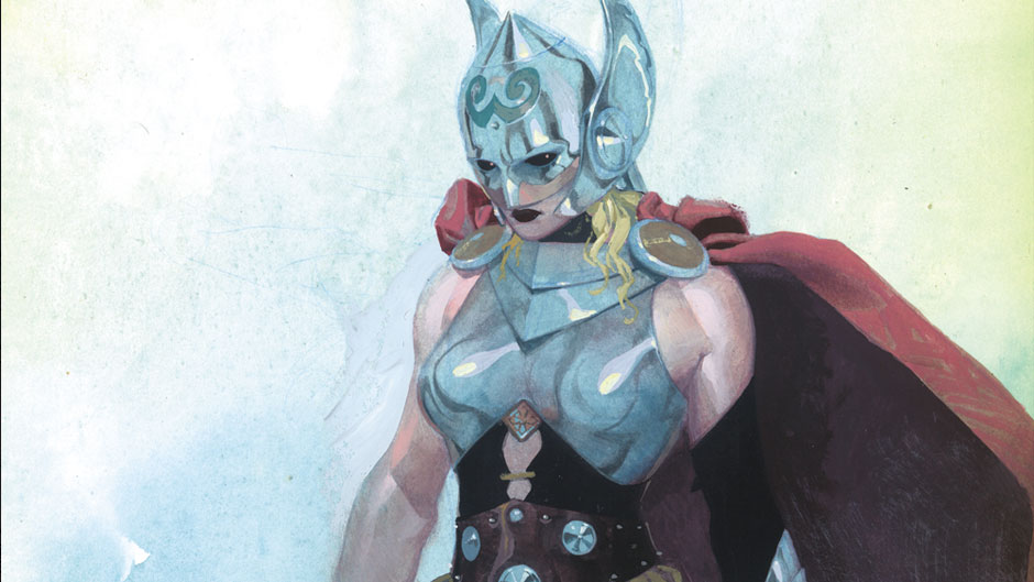 Thor to be a kick-ass chick!