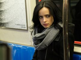 Krysten Ritter stars as Jessica Jones in 'Marvel's Jessica Jones' for Netflix