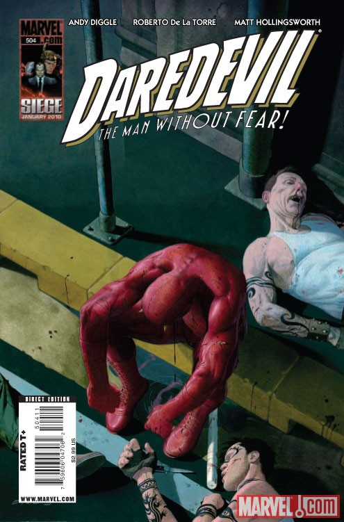 DAREDEVIL #504 Cover by Esad Ribic