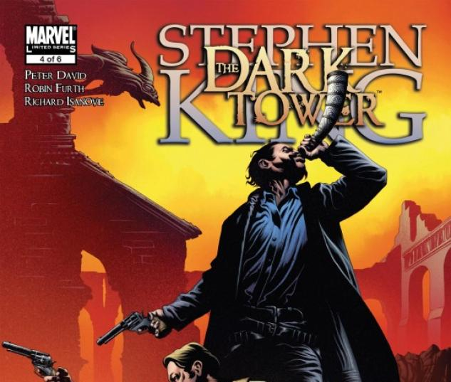 DARK TOWER THE FALL OF GILEAD #4 Cover