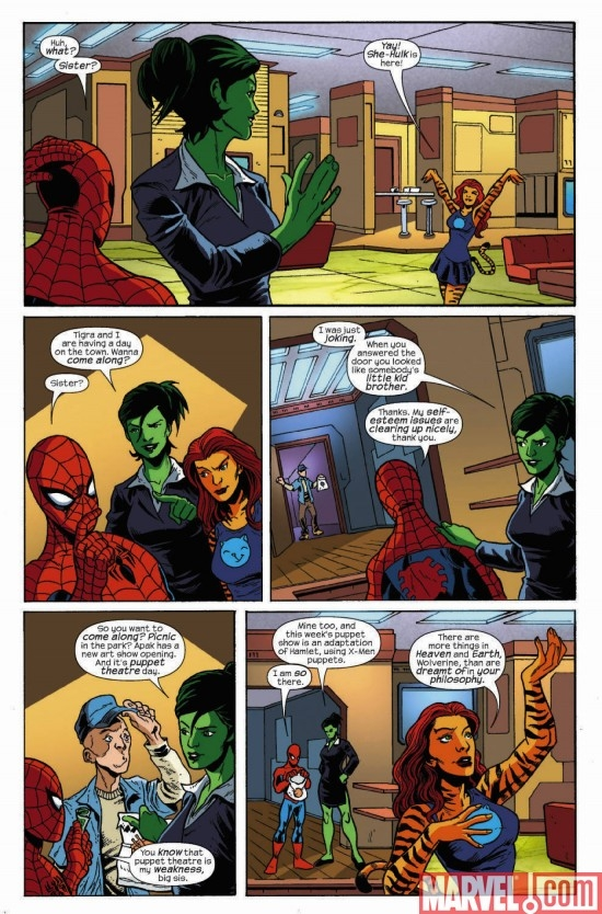 MARVEL ADVENTURES SUPER HEROES #13, page 4