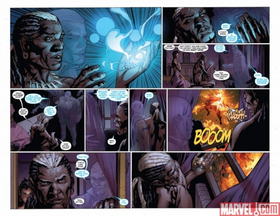 NEW AVENGERS #54, pages 5-6