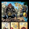 MARVEL APES: SPEEDBALL #1 preview page 4