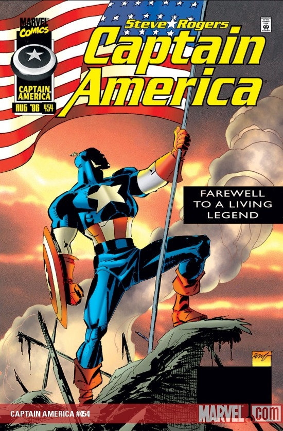 CAPTAIN AMERICA (2009) #454 COVER