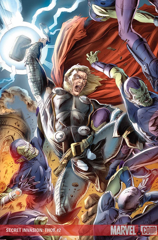 SECRET INVASION: THOR #2