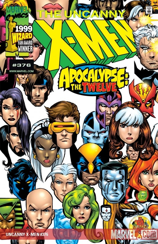 UNCANNY X-MEN #376
