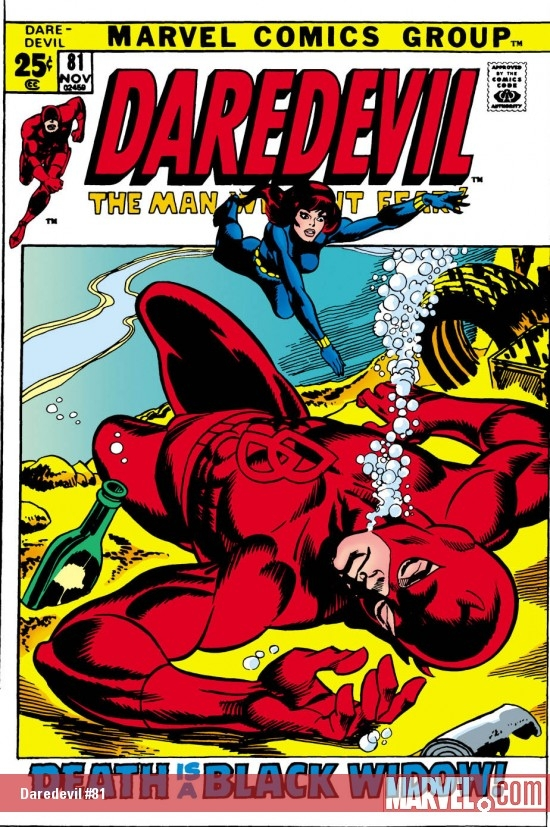 DAREDEVIL #81 COVER