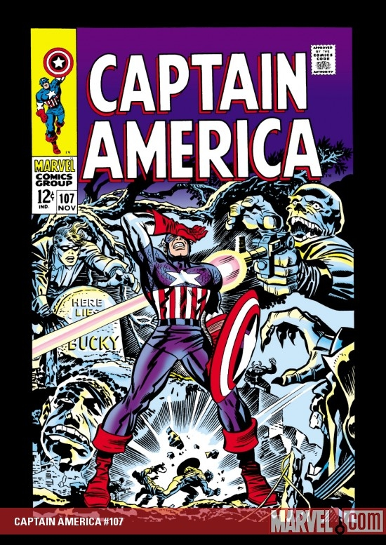 CAPTAIN AMERICA #107 COVER