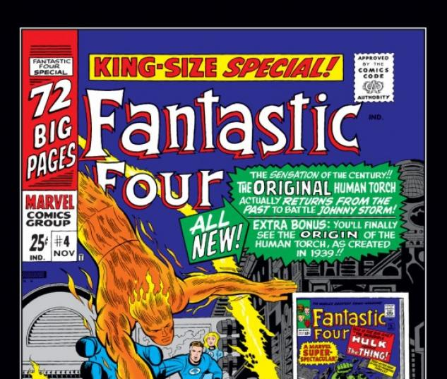 FANTASTIC FOUR ANNUAL #4 COVER