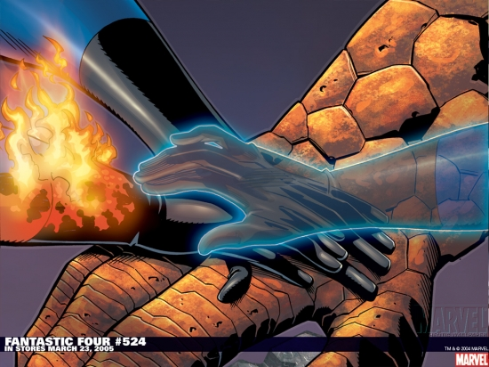 Fantastic Four (1998) #524 Wallpaper