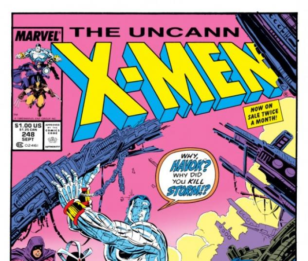 UNCANNY X-MEN #248