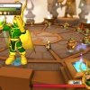 Screenshot of Valkyrie and Loki from Super Hero Squad Online