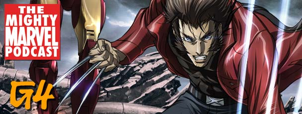 Iron Man and Wolverine anime series on G4
