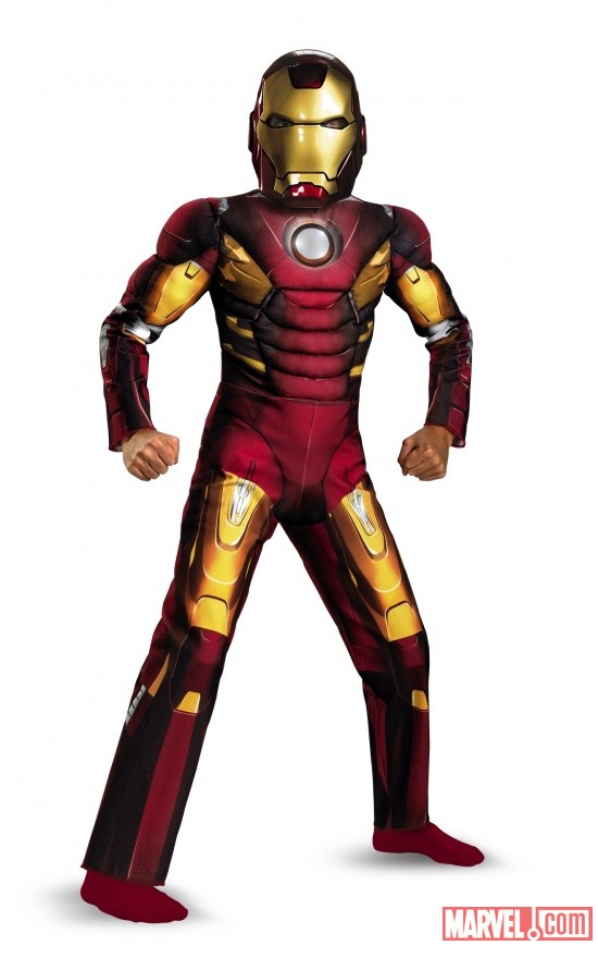 Iron Man Mark 7 Avengers Muscle Light Up