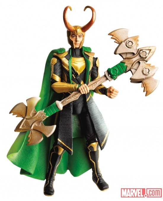 Avengers Power-Up Mission Figure Loki wave 2