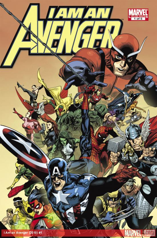 I Am an Avenger (2010) #1