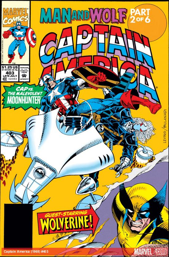 Captain America (1968) #403 Cover