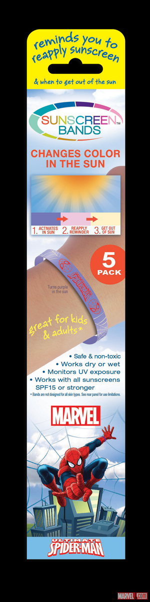 JADS Sunscreen Bands Spider-Man