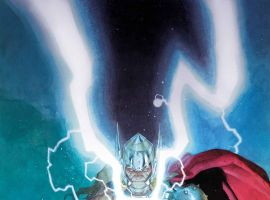 Thor: God of Thunder #25 cover by Esad Ribic