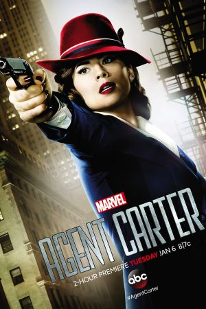 Marvel's Agent Carter lines up her shot in a new poster
