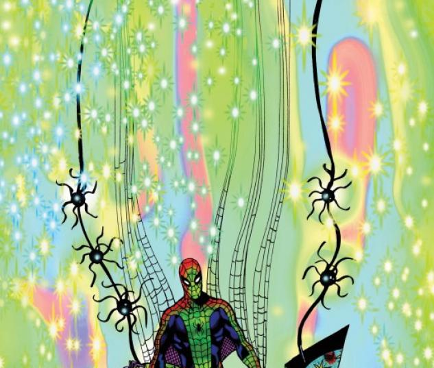Spider-Man: Fever #1 cover by Brendan McCarthy