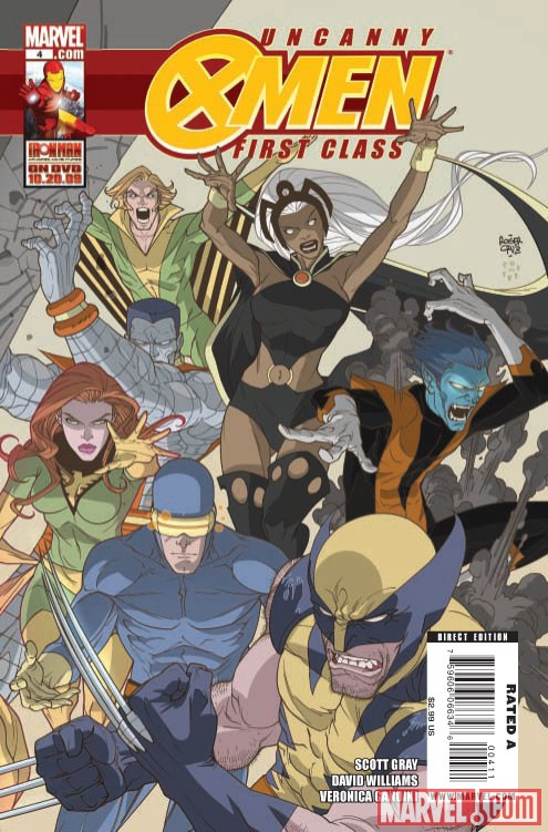 Uncanny X-Men First Class #4 cover by Roger Cruz