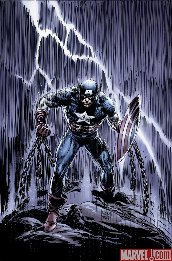 CAPTAIN AMERICA: REBORN #4 variant cover by Joe Kubert