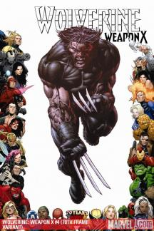 Wolverine Weapon X (2009) #4 (70TH FRAME VARIANT)
