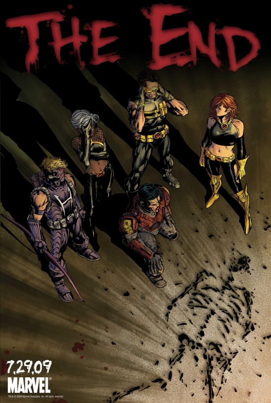 Image Featuring Cyclops (Ultimate), Iron Man (Ultimate), Marvel Girl (Ultimate), Storm (Ultimate)