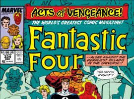 FANTASTIC FOUR #334