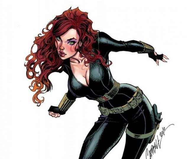 Black Widow (2010) #6 (CAMPBELL VARIANT)