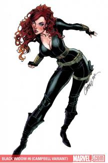 Black Widow #6  (CAMPBELL VARIANT)