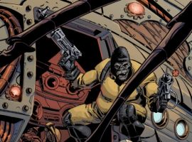 GORILLA MAN #1 preview art by Giancarlo Caracuzzo 4