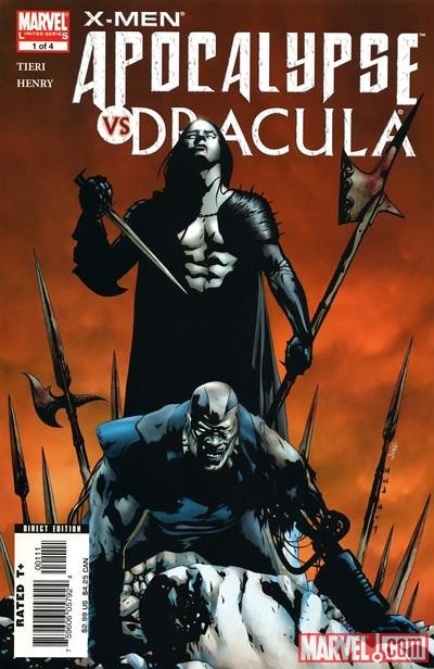 X-MEN: APOCALYPSE/DRACULA #1 cover by Jae Lee