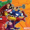 Image Featuring Captain America, Hawkeye, Hulk, Iron Man, Thor