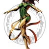 Phoenix character art from Marvel vs. Capcom 3