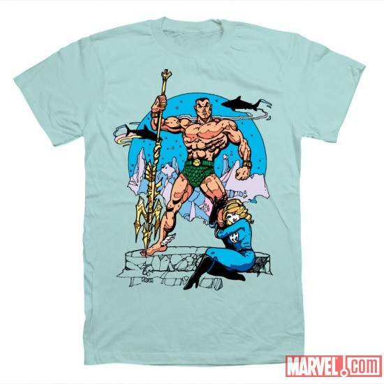 Amore Namor t-shirt by Mighty Fine