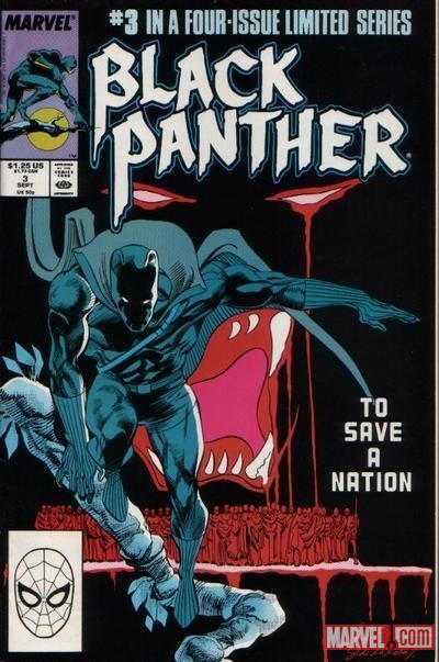 Black Panther (1988) #3 cover