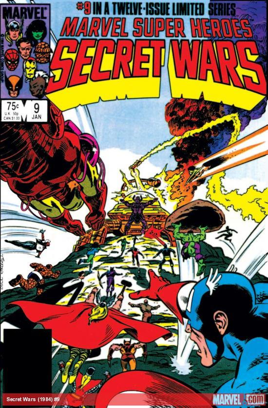 Secret Wars (1984) #9